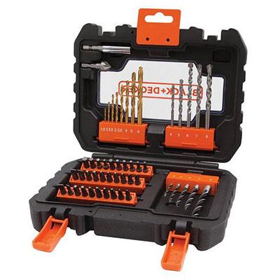 BLACK+DECKER A7232-XJ 50-Piece Drill & Screwdriving Set.