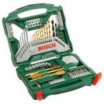 Bosch 2607019329 Titanium Drill and Screwdriver Set 70 Pieces.