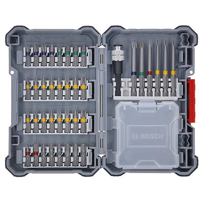 Bosch Professional Extra Hard Screwdriver Bit Set 40-Piece