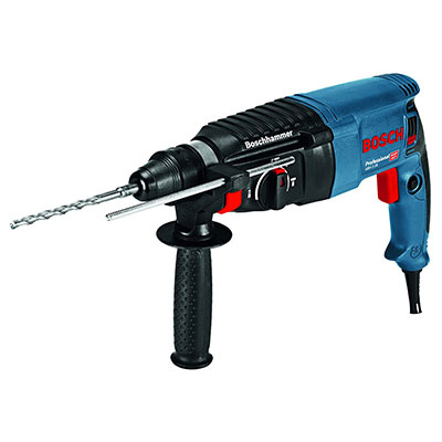 Bosch Professional GBH 2-26 Rotary Hammer Drill with SDS Plus.