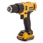 DeWalt Combi Drill with battery pack attached.