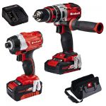 Einhell 4257216 Brushless Combi Drill and Impact Driver Kit.